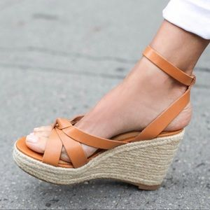 NEW Soludos Charlotte Espadrilles Wedged Sandals 7